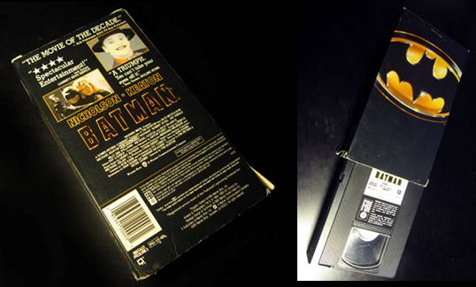 Batman VHS with case